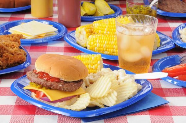 Меню для пикника: Гамбургеры на гриле