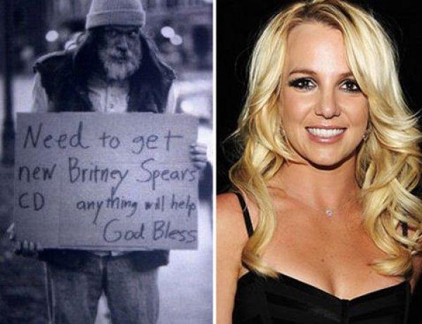 Вот такое фото Бритни выложила в соцсети