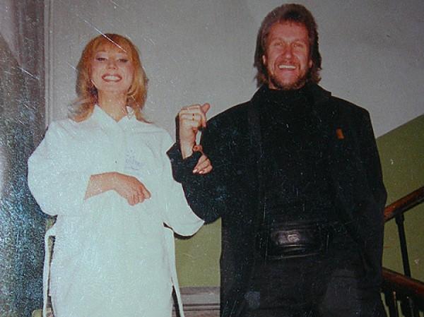 Маша Распутина и ее бывший муж Владимир Ермаков