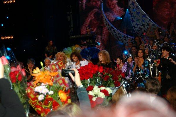 Валерйи Леонтьев на празднике