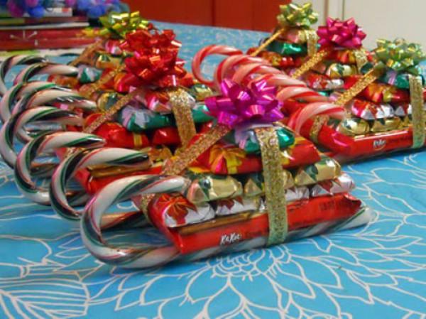 Поделки на новый год из бумаги подарки