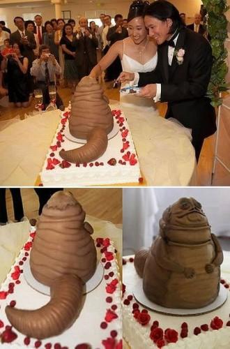 смешные свадебные торты фото