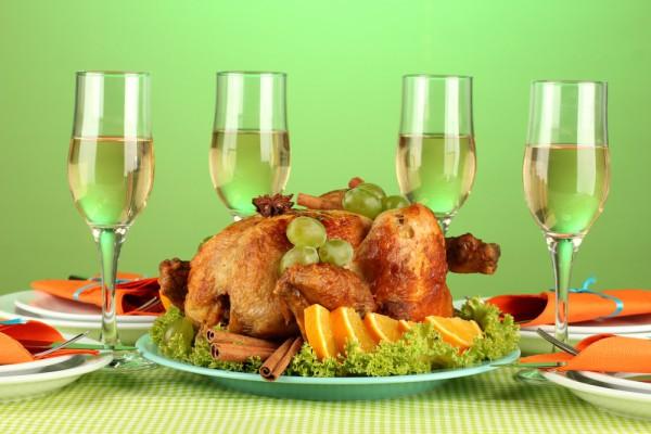 Запеченная индейка  – главное украшение стола в День благодарения