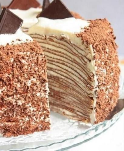 Как приготовить сметанный торт на сковороде