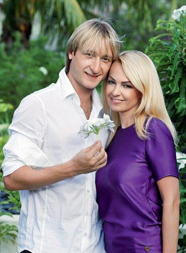 Яна Рудковская и Евгений Плющенко: Мальчика назовем Александром