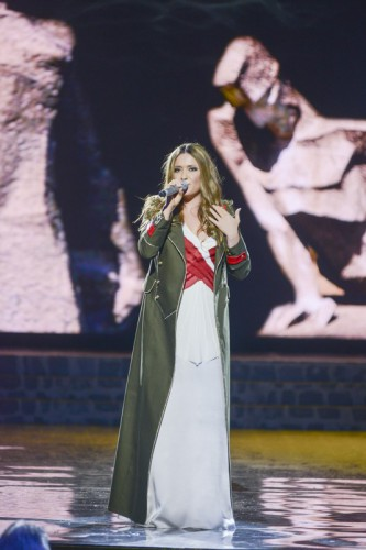 Наталья Могилевская выступила на концерте в честь Дня Победы
