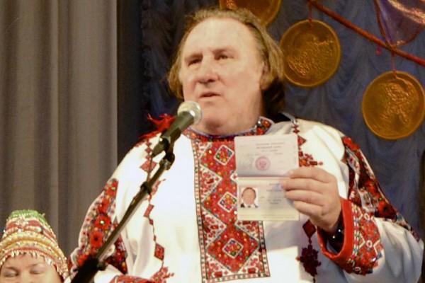 Жерар Депардье решил выучить русский язык
