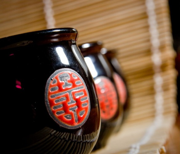 Чайная церемония всегда проводится торжественно