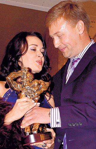 Со вторым мужем Дмитрием Стрюковым