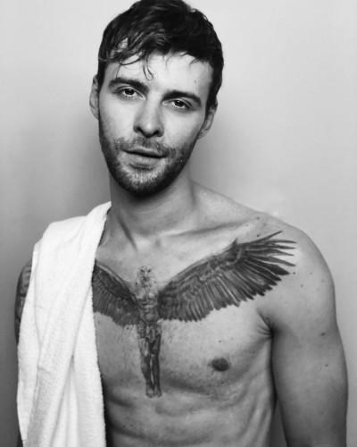 Новая татуировка Макса Барских фото