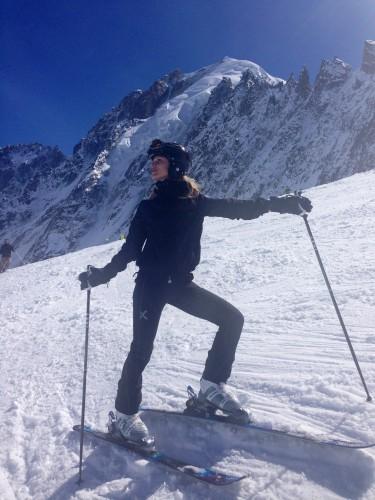 Ольга Фреймут рассказала о своих каникулах