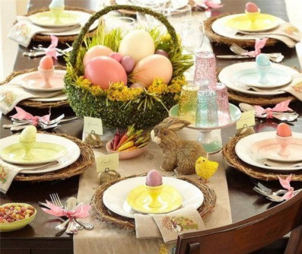 Укрась пасхальный стол яркими атрибутами праздника