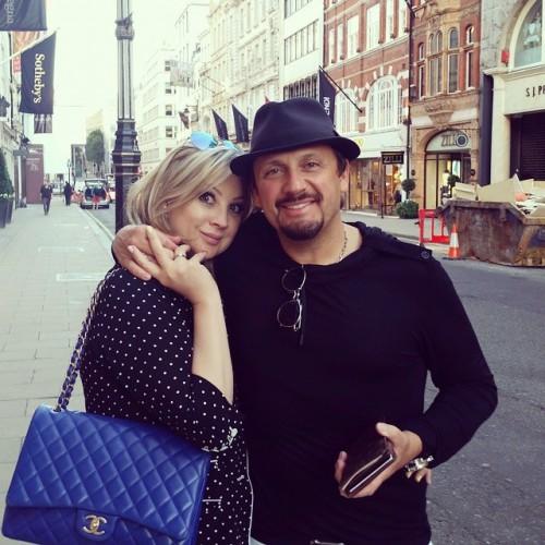 Стас Михайлов с женой Инной Михайловой