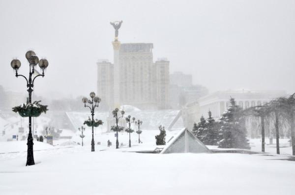 Погода на Новый год 2019 в Киеве