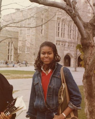 Мишель Обама в юности фото