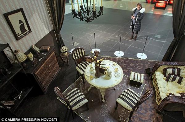 Дом, милый дом: шоколадная гостиная была открыта в Минске