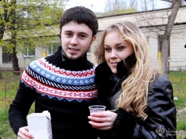Новоиспеченные родители – Тарас Тополя и Alyosa