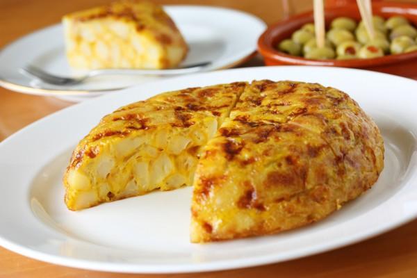 Рецепт                  Омлет с картофелем