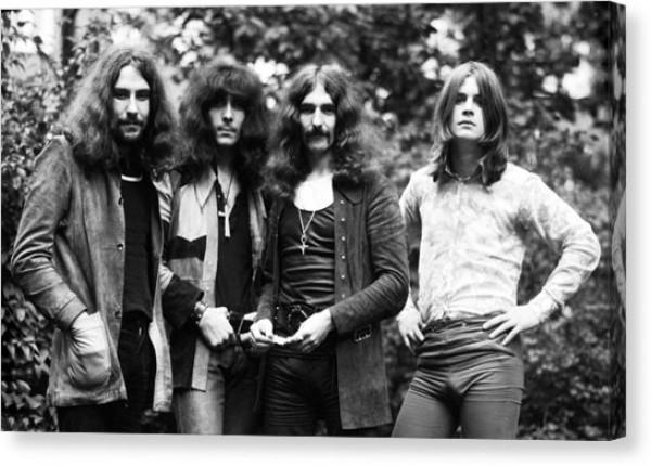 Black Sabbath в 1970 году (Оззи Осборн - крайний справа)