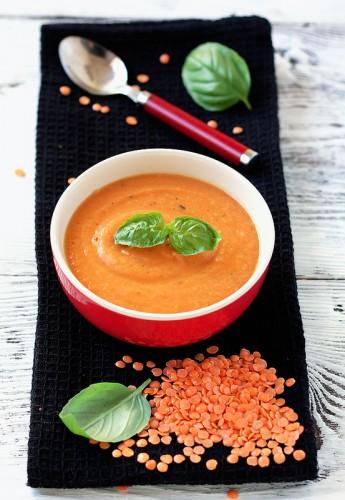 Рецепт                  Морковный суп-пюре с чечевицей