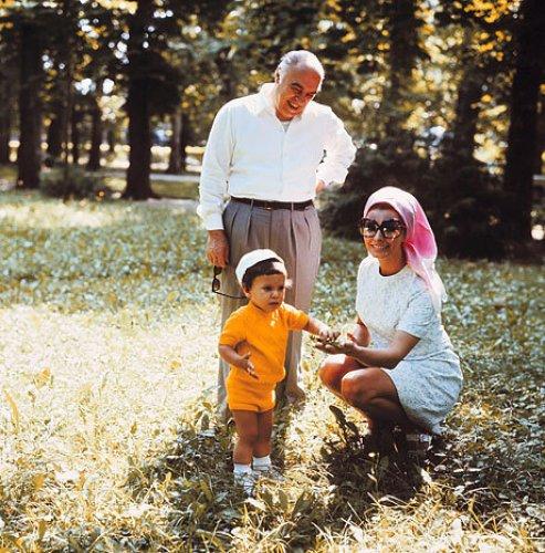 Софи и Карло и первенцем, 1970 год