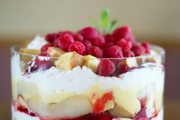 Летние десерты из малины