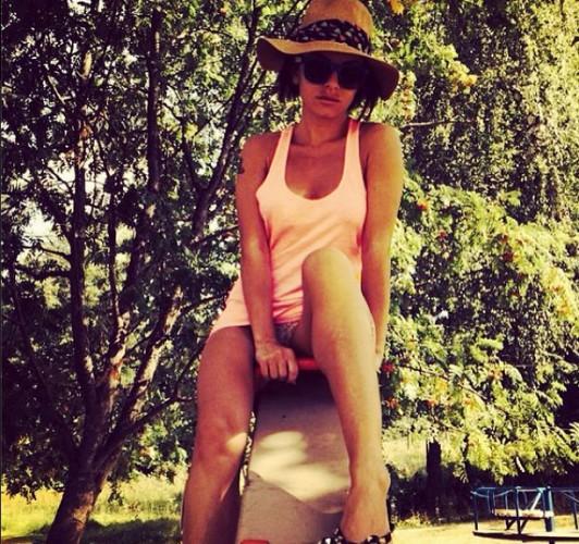 Юлия Волкова показала нижнее белье /instagram.com/official_juliavolkova