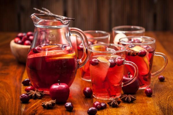Рецепт                  Морс из осенних ягод
