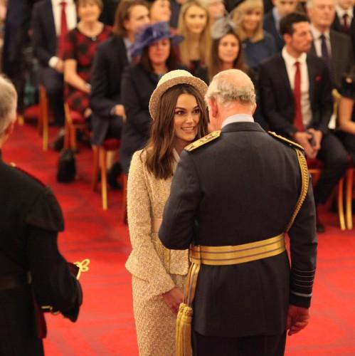 Награду Кире Найтли вручил принц Чарльз