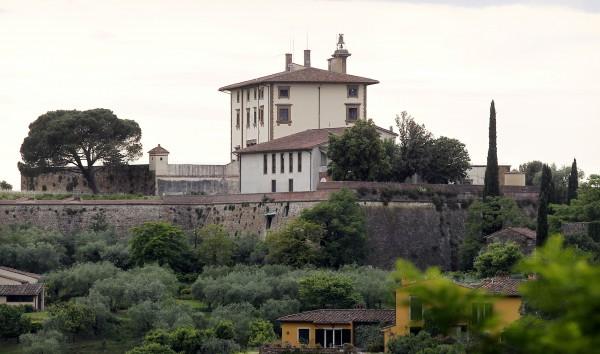 Замок для свадьбы Ким Кардашян