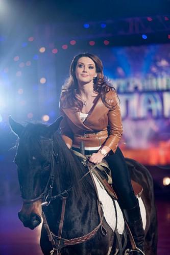 Оксана Марченко оседлала коня на кастингах шоу Україна має талант 5