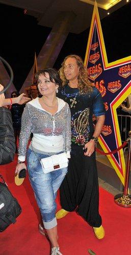 Певица Наташа Королева с мужем, Сергеем Глушко (Тарзан)