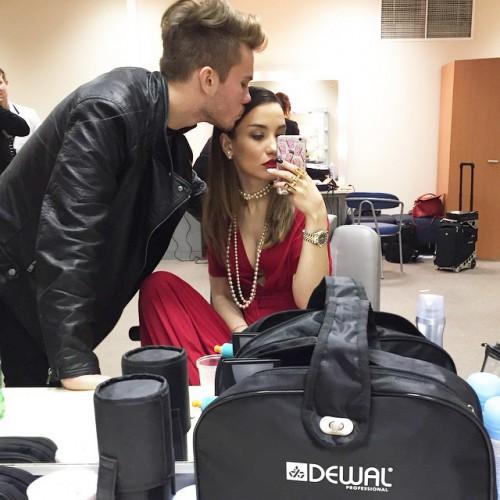 Российская певица Вика Дайнеко с новым молодым человеком