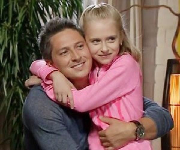 Александр Педан с дочкой Лерой