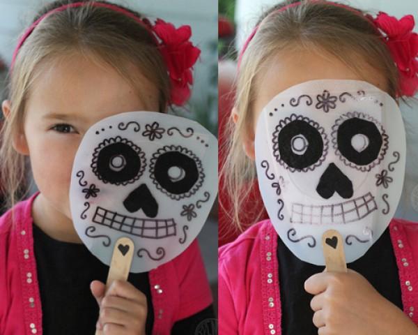 Сделать своими руками маску хэллоуин