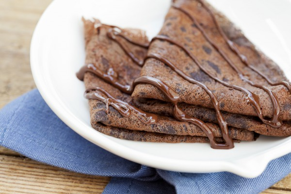 рецепт шоколадных блинчиков