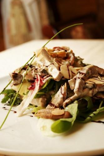 Рецепт                  Осенний салат из телятины и овощей
