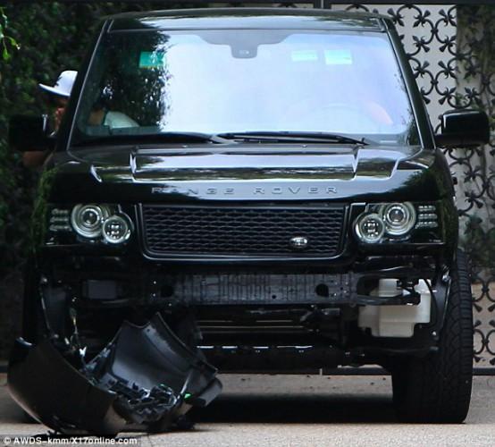 Դեյվիդ Բեքհեմն իր 14-ամյա որդու հետ ավտովթարի է ենթարկվել