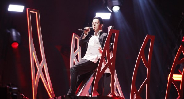 Выступление MELOVIN на Евровидении 2018 в Лиссабоне