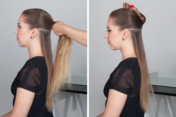 Мастер класс укладки на короткие волосы