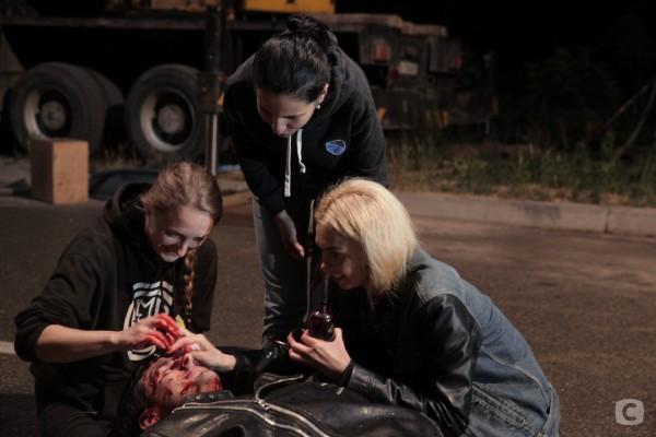 Фото со съемок сериала
