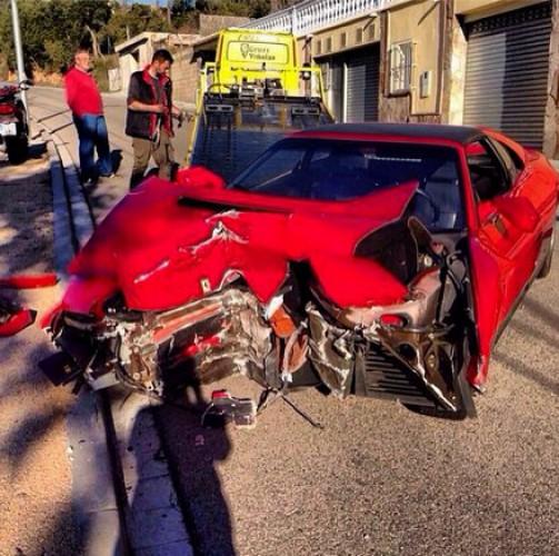 Фото с аварии во время съемок клипа певицы Валерии попало в Сеть