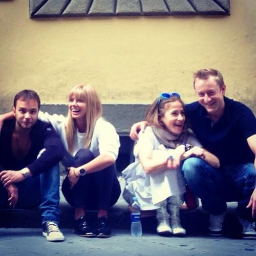 Андрей Чадов, Настя Задорожная, Юлия Барановская и Сергей Славнов