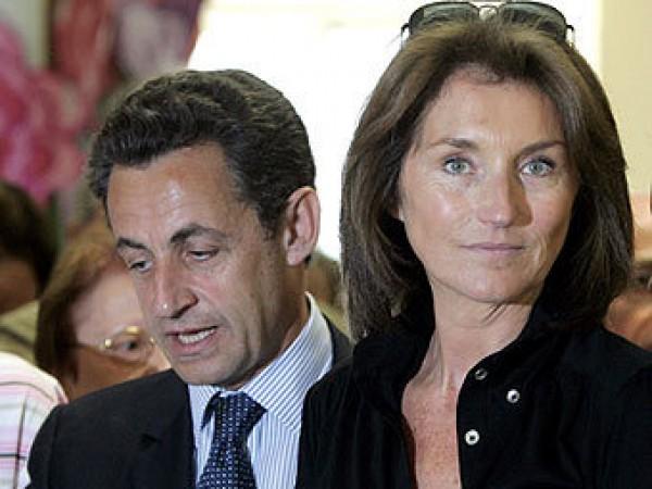 Николя Саркози с Сесилией Мартен развелся