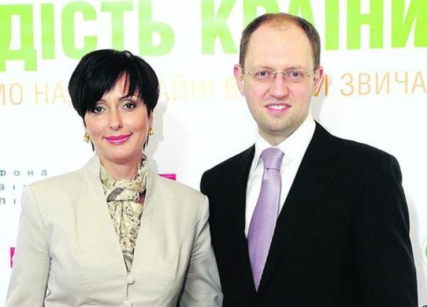 Жена Арсения Яценюка первая пригласила его на свидание