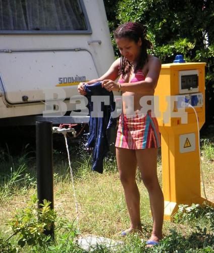 Гайтана в юности носила прическу с африканскими косичками