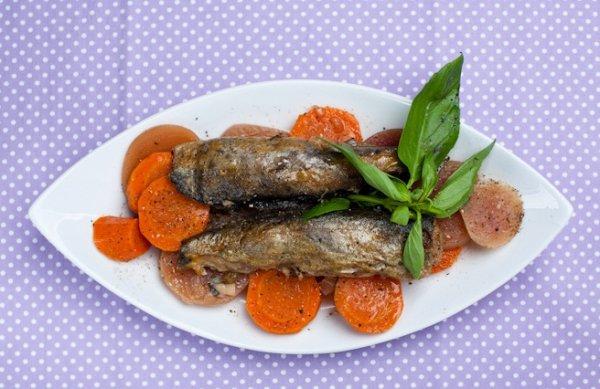 Рецепт                  Фаршированная рыба от Даши Малаховой