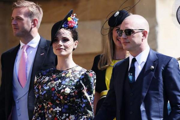 Том Харди на свадьбе принца Гарри и Меган Маркл