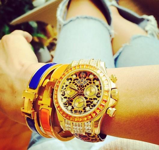 Виктория Боня стесняется носить часы из-за их кричащего дизайна