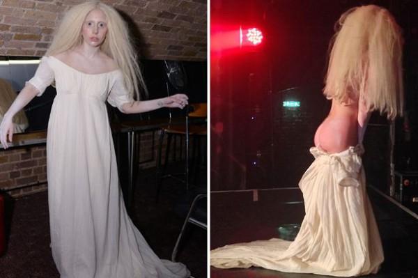 Lady GaGa разделась догола в гей-клубе